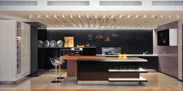 Кухня в стиле Хай-тек: Кухни в . Автор – Sweet Home Design,