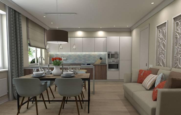 Dapur oleh Ivory Studio, Eklektik