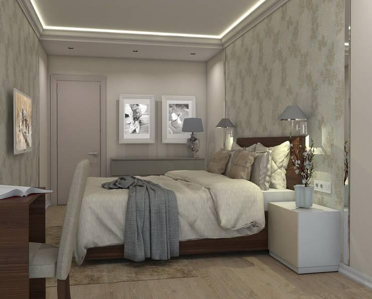 Жилой комплекс <q>Рай в шалаше</q>: Спальни в . Автор – Ivory Studio