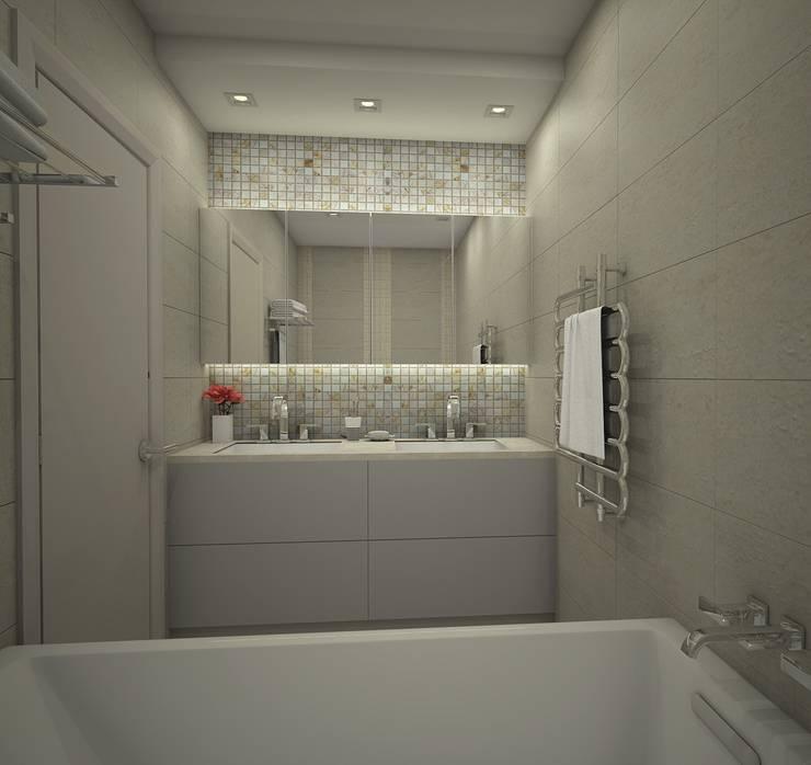 Жилой комплекс <q>Рай в шалаше</q>: Ванные комнаты в . Автор – Ivory Studio