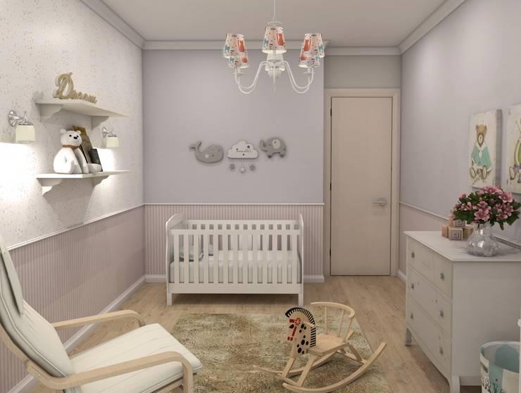 Жилой комплекс <q>Рай в шалаше</q>: Детские комнаты в . Автор – Ivory Studio