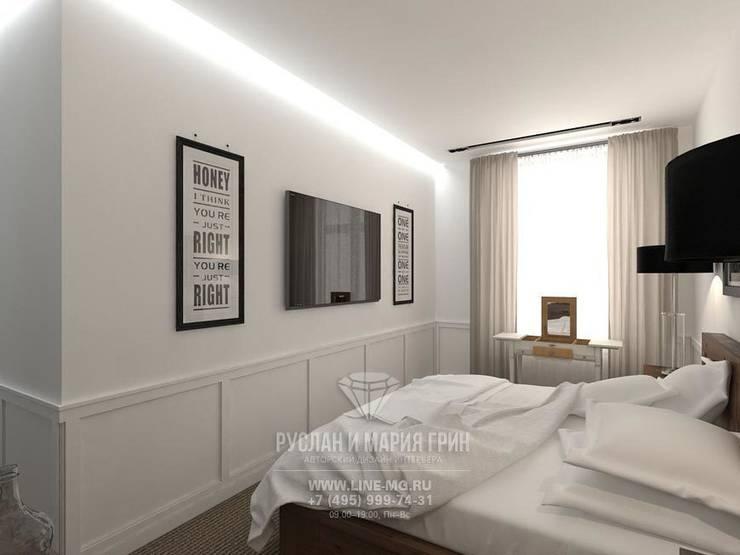 Дизайн спальни в стиле лофт: Спальни в . Автор – Студия дизайна интерьера Руслана и Марии Грин