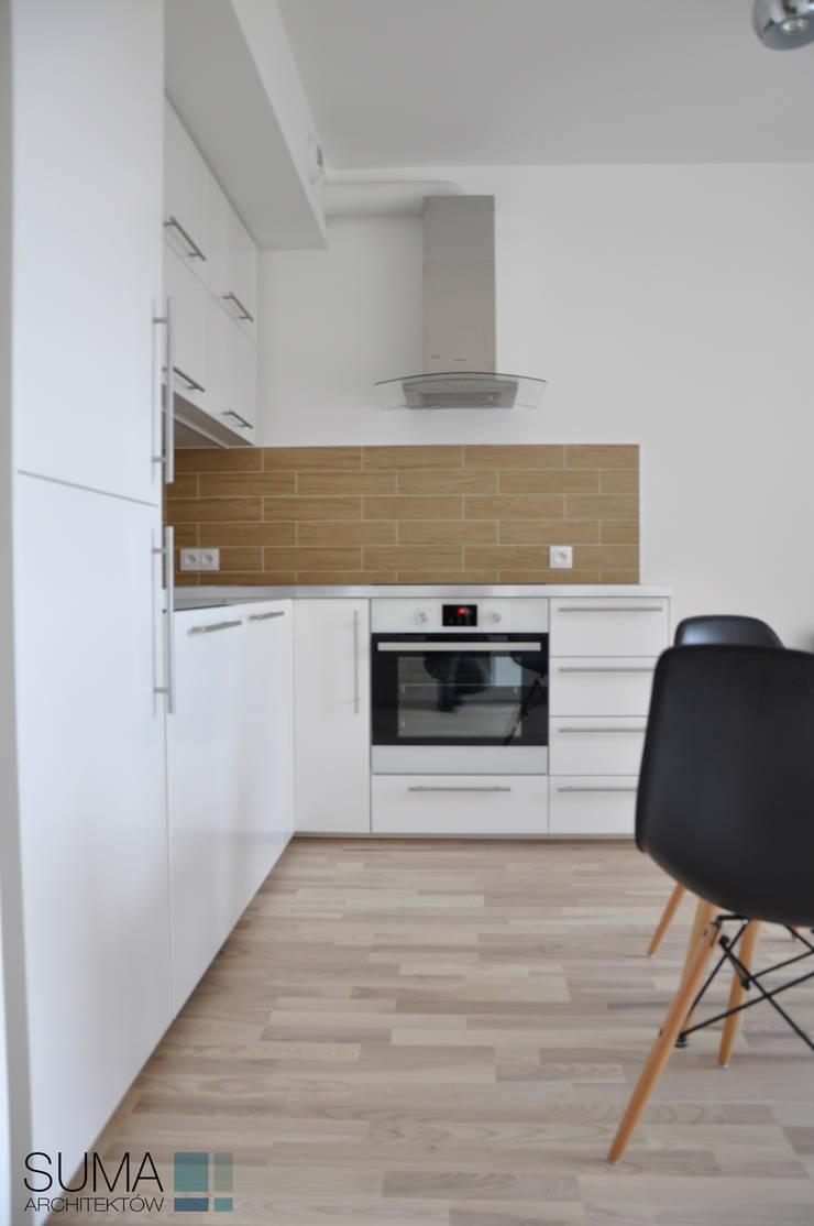 M33_RENT_ONE: styl , w kategorii Kuchnia zaprojektowany przez SUMA Architektów