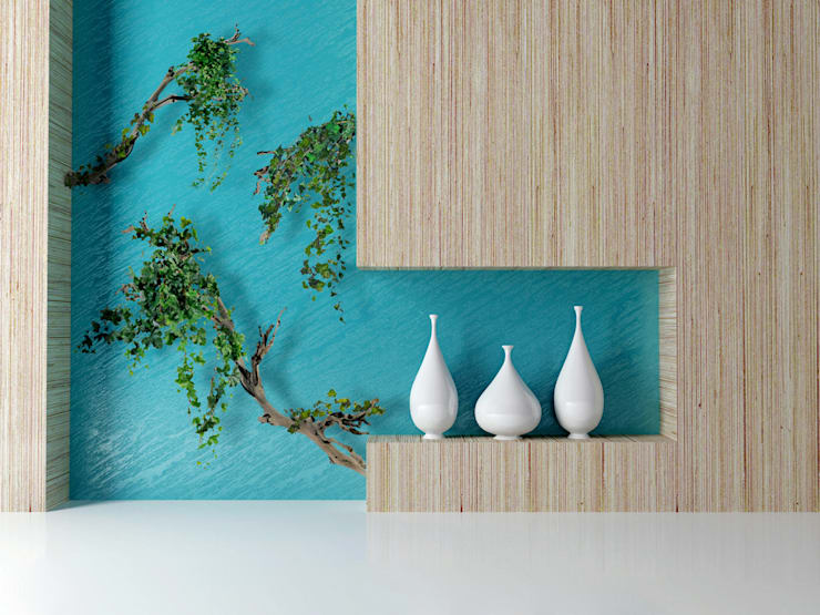 décoration végétale: Paysagisme d'intérieur de style  par Adventive