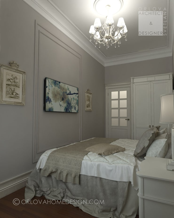 Bedroom by Orlova Home Design, Classic