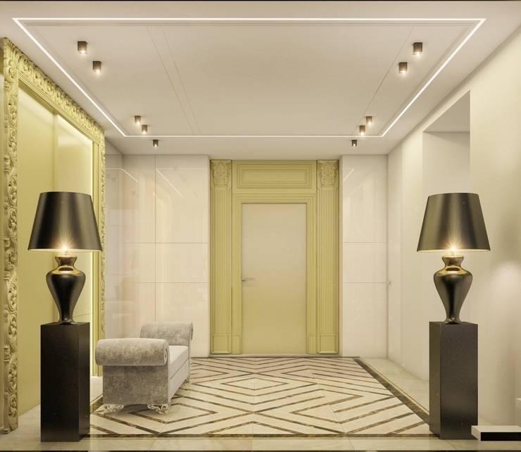 Двухуровневая квартира в жк Антаресе (Екатеринбург): Коридор и прихожая в . Автор – E_interior