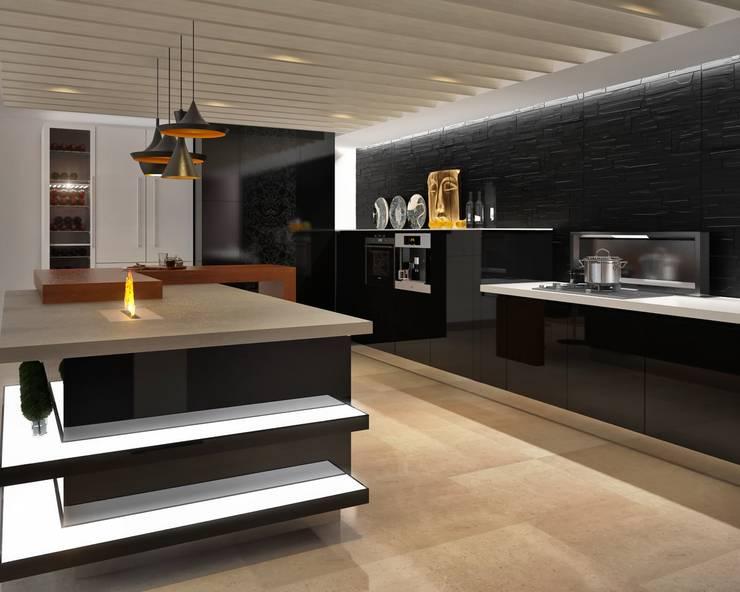 Кухня в стиле Хай-тек: Кухни в . Автор – Sweet Home Design