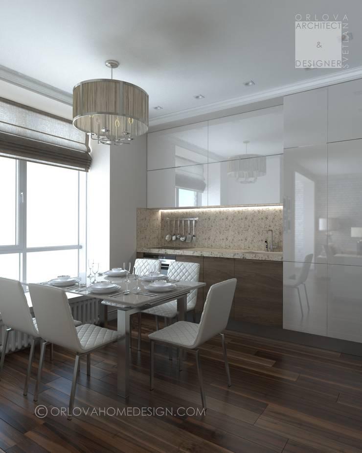 Квартира в Москве: Кухни в . Автор – Orlova Home Design