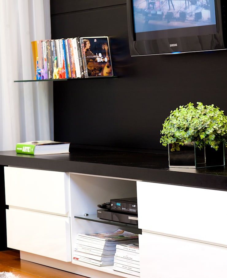 Apartamento A-A: Casa  por Ana Trevisan Arquitetura e Paisagismo