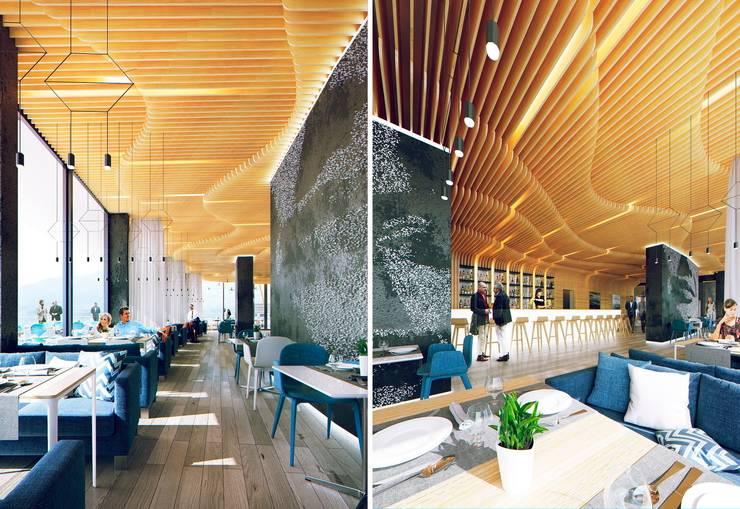 ГУРЗУФ РИВЬЕРА: Ресторации в . Автор – 8d-architects,