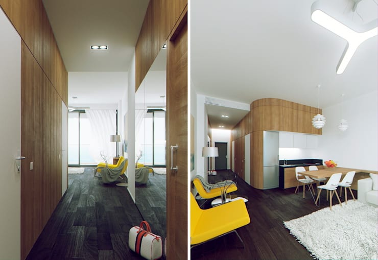 ГУРЗУФ РИВЬЕРА: Гостиницы в . Автор – 8d-architects,