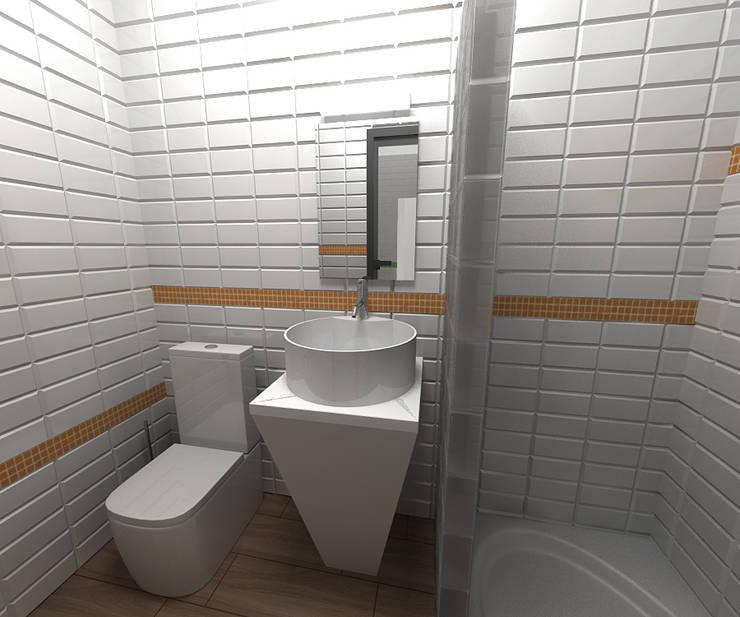 minimalistic Bathroom by SpacePlace