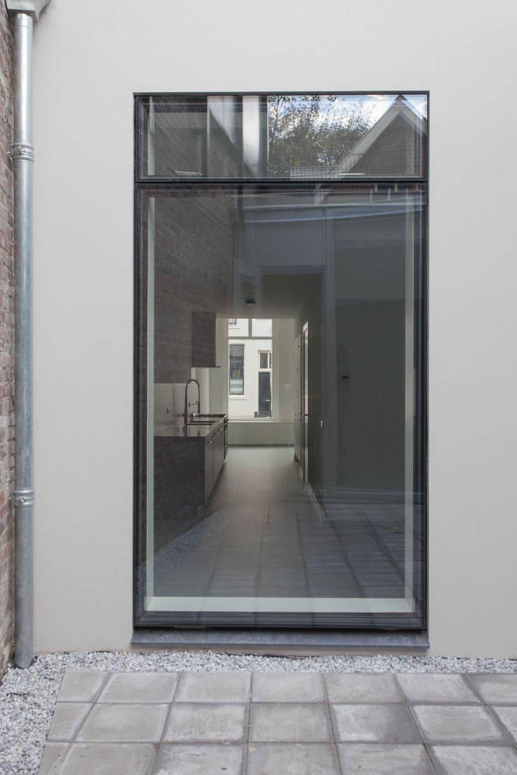 Projekty,  Domy zaprojektowane przez architectenbureau Huib Koman (abHK), Nowoczesny