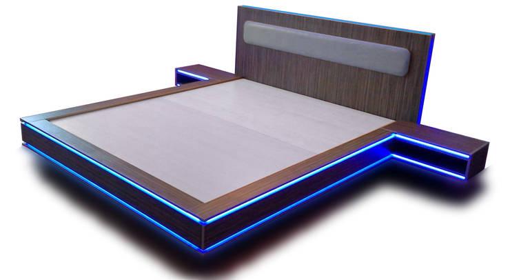 Кровать молодёжная в стиле фильма ТРОН: Спальная комната  в . Автор – MEBXLINE