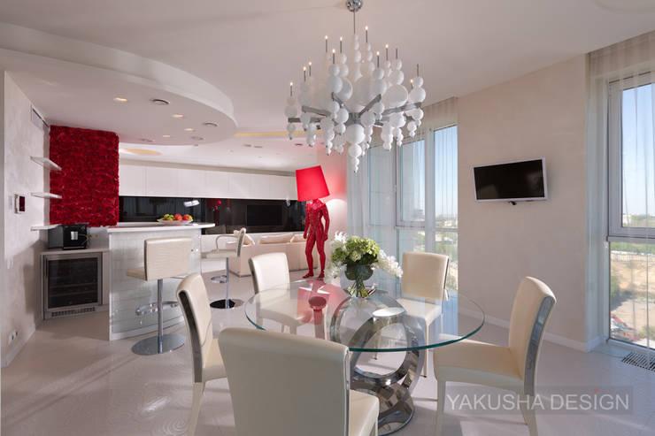 Fashion apartment: Кухни в . Автор – Yakusha Design