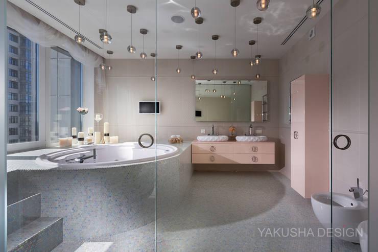 Ванные комнаты в . Автор – Yakusha Design