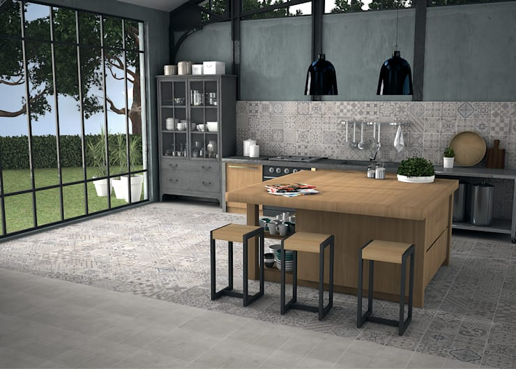 Elle:  Kitchen by The Baked Tile Company