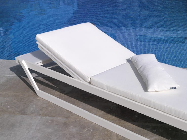 TUMBONA EVO BY AXTHOR OUTDOOR FURNITURE: Jardín de estilo  de AXTHOR OUTDOOR FURNITURE