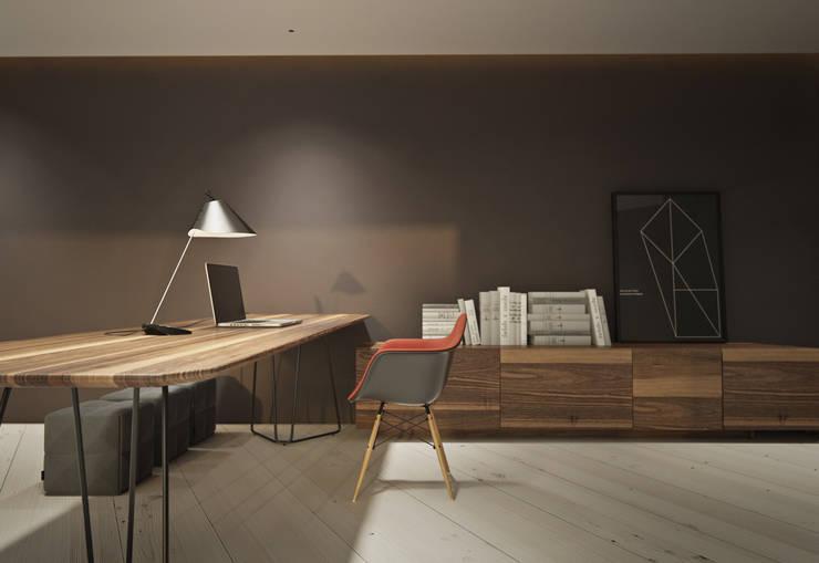 c-house/564int: Рабочие кабинеты в . Автор – psh