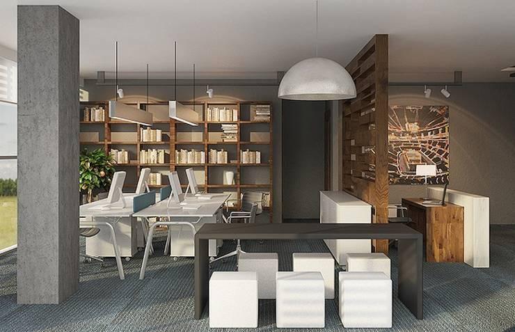 na-md Mimarlık – OFFICE IN MALTEPE:  tarz Ofis Alanları