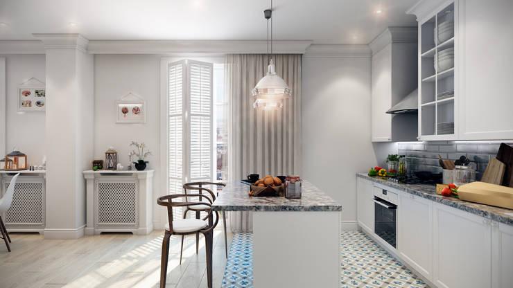 Projekty,  Kuchnia zaprojektowane przez CO:interior