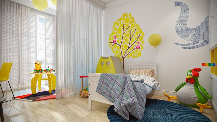 Chambre d'enfant de style de style Scandinave par CO:interior