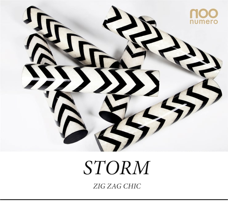 Storm Cylinder: modern  by Numero Living, Modern
