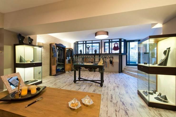 Modern offices & stores by na-md Mimarlık Modern