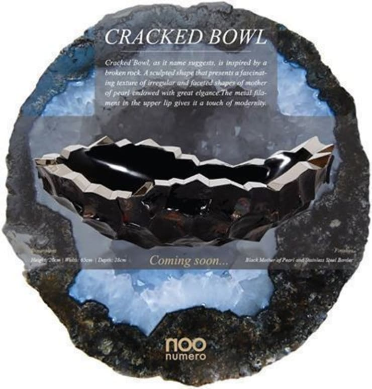 Cracked Bowl: modern  by Numero Living, Modern
