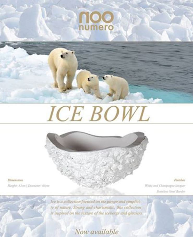 Ice Bowl: modern  by Numero Living, Modern