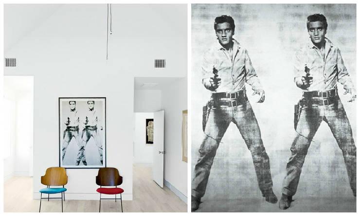 Elvis Two Times – Andy Warhol: minimalist  by King & McGaw, Minimalist