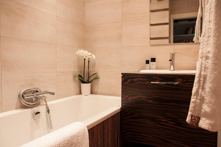 Łazienka: styl , w kategorii Łazienka zaprojektowany przez A&A Studio Wnętrz