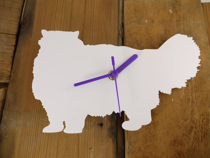 Persian Silhouette Clock: modern  by BooBoo and Ted, Modern