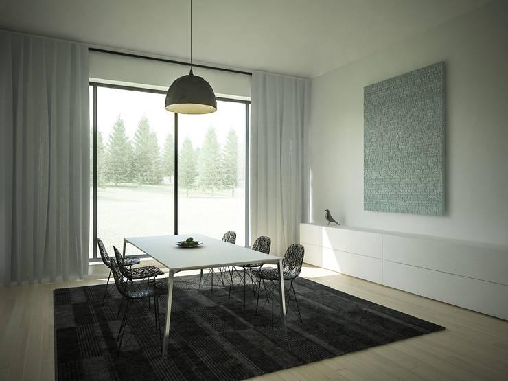 Comedores de estilo minimalista de 3XEL Biuro projektowe Minimalista
