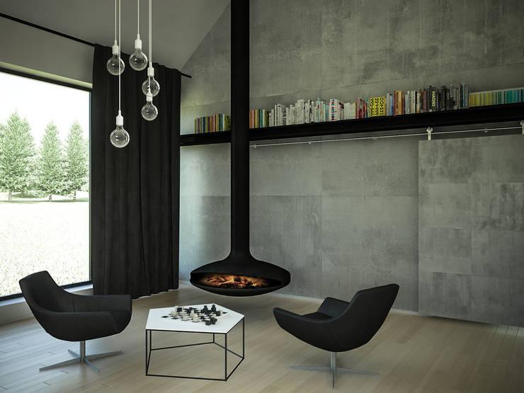 Livings de estilo minimalista de 3XEL Biuro projektowe Minimalista