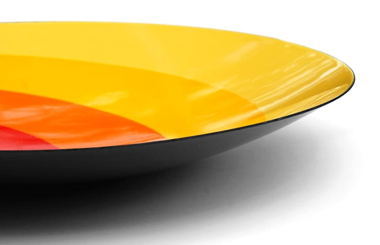 After Josef - enamel bowl: modern  by People Will Always Need Plates, Modern