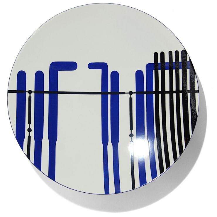 After Richard & Renzo - enamel bowl: modern  by People Will Always Need Plates, Modern