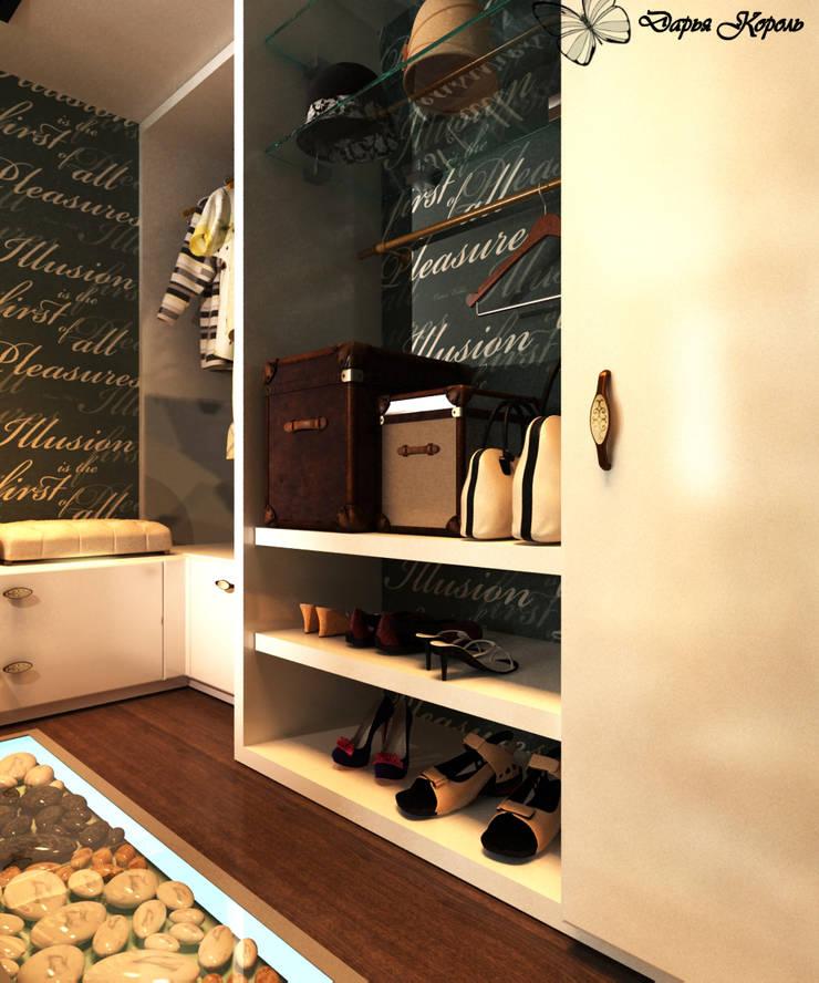 Гардеробная в спальне: Гардеробные в . Автор – Your royal design
