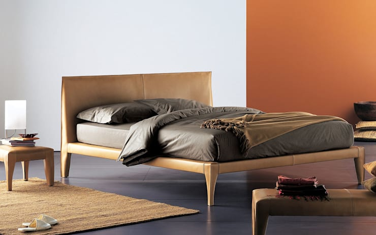 Alicudi Bed by Flou:  Bedroom by Campbell Watson
