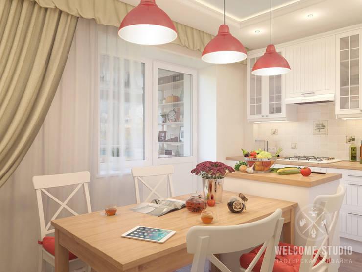 Кухня, ракурс 1: Кухни в . Автор – Мастерская дизайна Welcome Studio