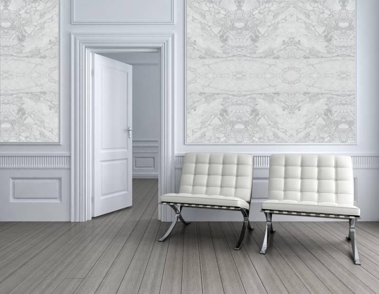 Paredes y pisos de estilo  por Eclectic Living