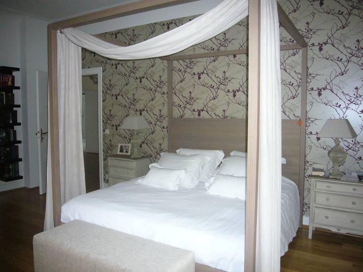 DORMITORIO PRINCIPAL: Dormitorios de estilo  de Judith interiors