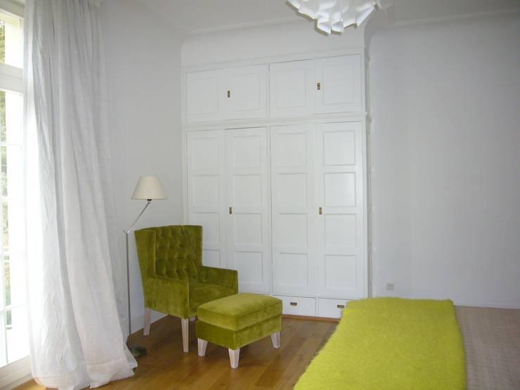 DORMITORIO INVITADOS: Dormitorios de estilo  de Judith interiors
