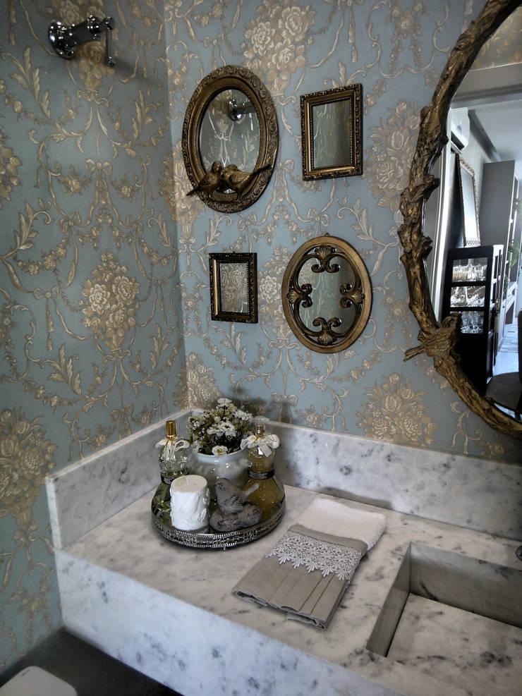 Gabriela Herde Arquitetura & Design:  tarz Banyo, Klasik