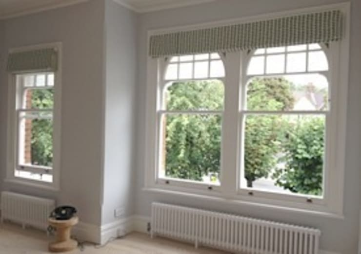Made to Measure Roman Blinds: modern  by WAFFLE Design, Modern