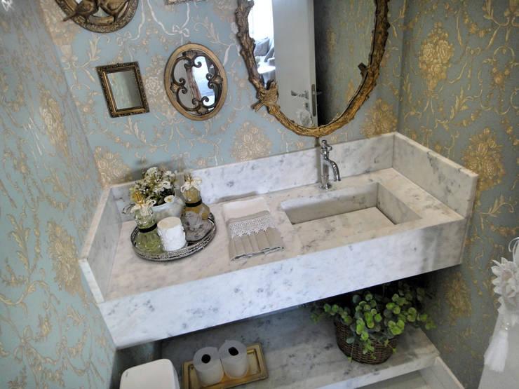 Baños de estilo  por Gabriela Herde Arquitetura & Design