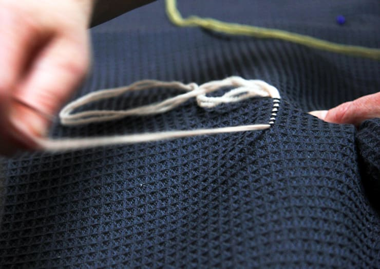 Individually Hand embroidered: classic  by WAFFLE Design, Classic