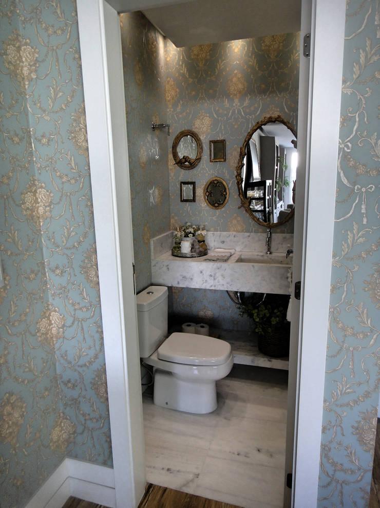 Lavabo: Banheiros  por Gabriela Herde Arquitetura & Design