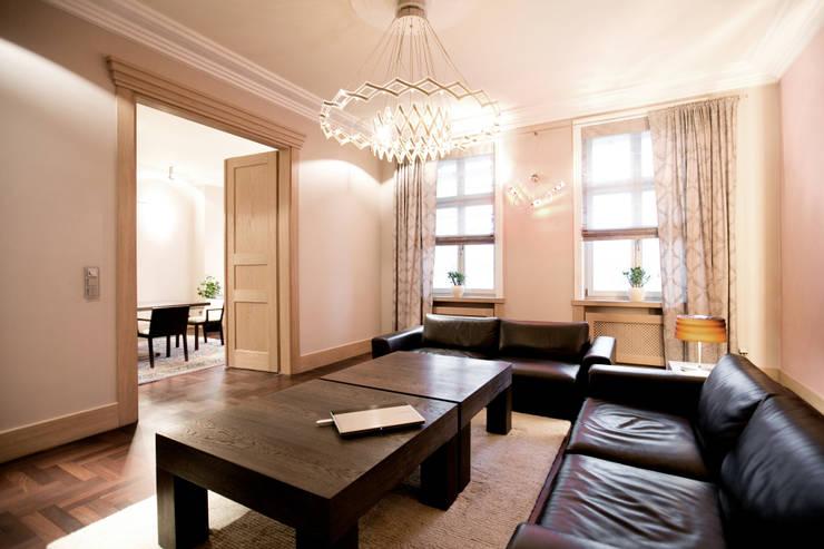 Anna Buczny PROJEKTOWANIE WNĘTRZ  salon: styl , w kategorii Jadalnia zaprojektowany przez Anna Buczny PROJEKTOWANIE WNĘTRZ