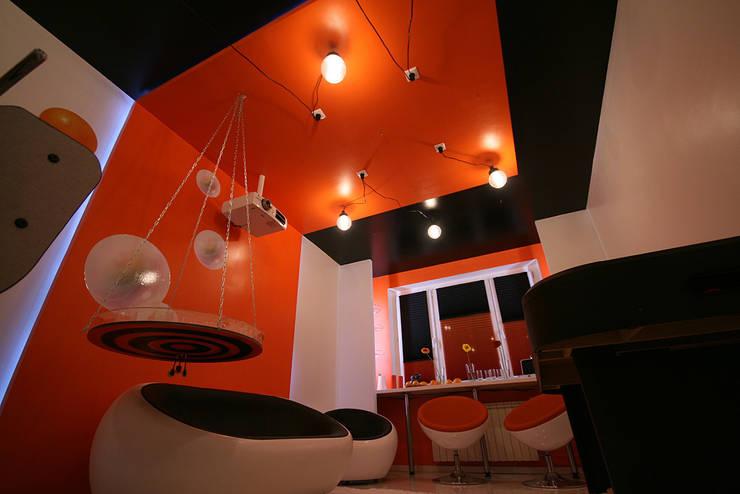 гостиная: Медиа комнаты в . Автор – artemuma - архитектурное бюро